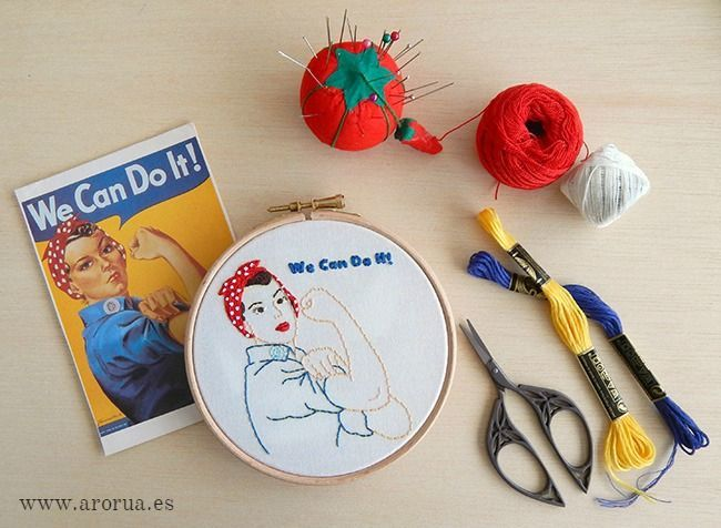 Embroidery We Can Do it